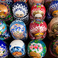 RUSSIA - Russland - MOSCOW, MOSKAU, OLD ARBAT; Souvenirs: Matrjoschka