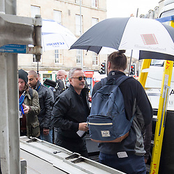 Trainspotting 2 filming in Leith, Edinburgh 16/5/2016