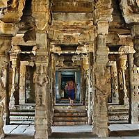 Lepakshi and Bhoganandishwara Hindu Temples, India Travel Stock Photos
