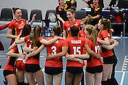 VBALL: 31-3-2016 - Belgium - Austria - U19