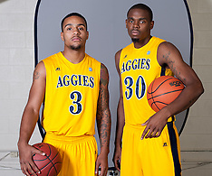 2012-13 A&T Sports Poster Shots (Behind the Scenes)