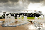 LONDON, ENGLAND - Wednesday 7 May 2014, a general view of the Olympic Stadium inside the Queen Elizabeth Olympic Park in Stratford, London, host city of the London 2012 Olympic Games<br /> Photo by Roger Sedres/ImageSA