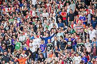 ROTTERDAM - Eerste training van Feyenoord , voetbal , seizoen 2015-2016 , Stadion De Kuip , 28-06-2015 , Feyenoord stadion De Kuip was uitermate goed gevuld