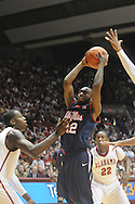 Ole Miss vs. Alabama in Tuscaloosa, Ala.. on Saturday, February 12, 2011. Alabama won.