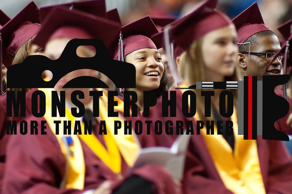 06/13/12 Newark DE: Appoquinimink senior enjoy graduation  ceremony Wednesday, June 13. 2012, at The Bob Carpenter Center in Newark Delaware...Special to The News Journal/SAQUAN STIMPSON