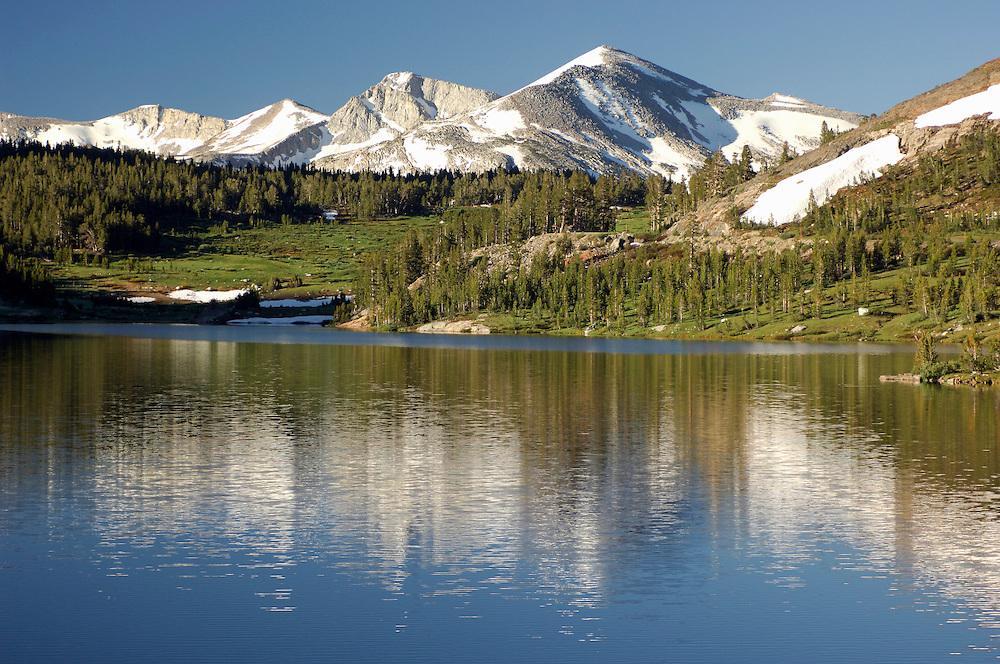 Tioga Lake along Tioga Pass Road, near Lee Vining, California, United States of America