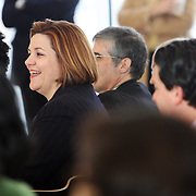 New York City Council Speaker Christine Quinn at the New School.