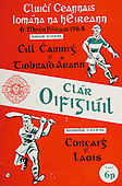 06.09.1964 All Ireland Senior Hurling Final Programme