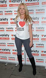 Pola Pospieszalska attends at 'I Love A Bit of Variety' fundraising party in aid of Variety, The Childrens Charity at Press Nightclub, Whitcomb Street, London on Thursday 26.3.2015