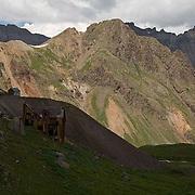 Governor Basin, San Juan Mountains, Mountain Top Mine