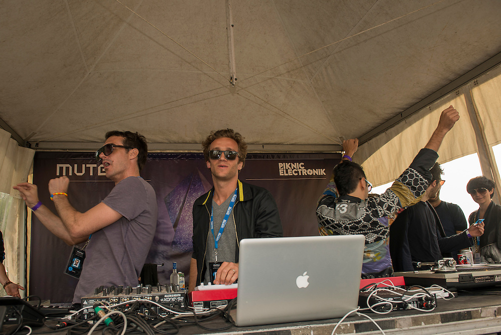 Benoit & Sergio (US), MUTEK // Piknic, Parc Jean-Drapeau 3 juin 2012.