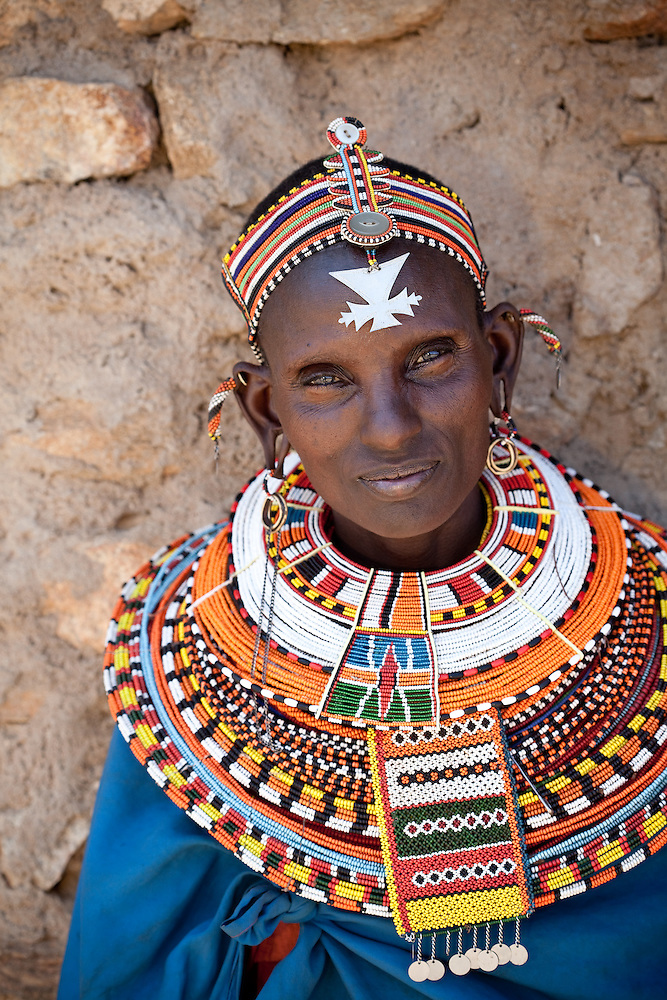 Samburu woman