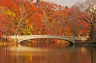 Bow Bridge, Central Park, Manhattan, New York City, New York, USA