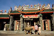 Hokkienese Hong San Si temple, Kuching