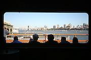 Staten Island Ferry facing Brooklyn. New York 2010