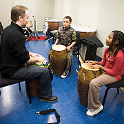 Tufts Community Music Program: lessons on violin, or in African drumming and more! (Melody Ko/Tufts University)