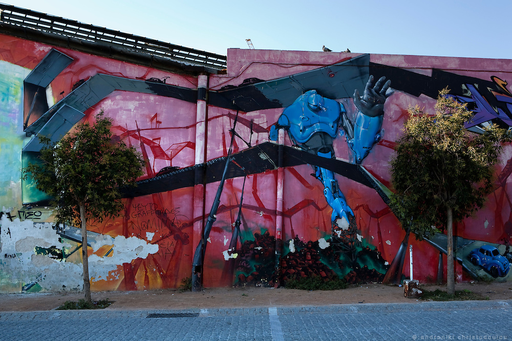 Graffiti in Athens, Greece
