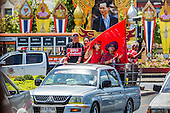 Red Shirts Motorcade to Parliament