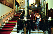 """Pera Palas"" one of the oldest Hotels in Pera that had some glorious times as one of the Hotels hosting passengers of the ""Orient Express"", is still one of the most luxurious hotels in the area. .ISTANBUL, Androniki Christodoulou/WorldPictureNews"