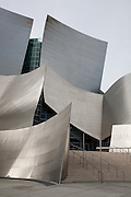 Entrance view view of Walt Disney Concert Hall, Los Angeles