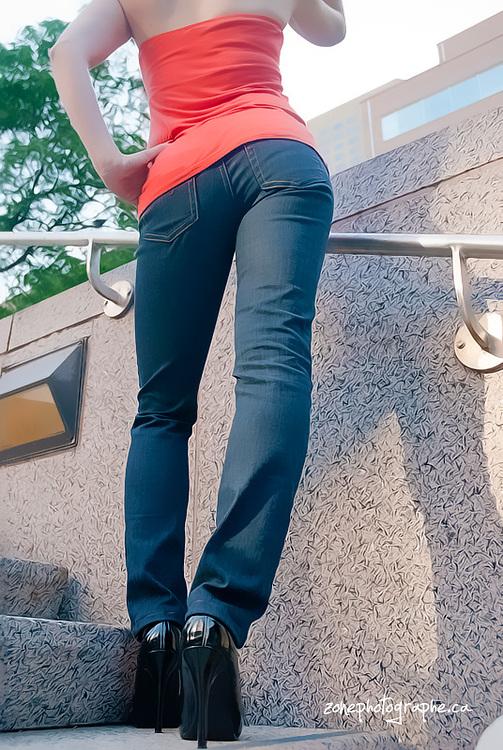 Fesses et jeans