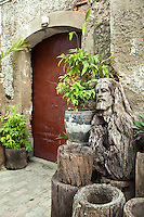 "Crisologo Street, Vigan Historical District -Vigan is the only town in the Philippines that has retained ts Spanish colonial architecture with a distinct identity of its own.  Vigan's mestizo district was designated a UNESCO World Heritage site as the ""Historic Town of Vigan.""  Calle Crisologo is one of the main attractions in the city of Vigan. It is a well preserved cobblestone street a few hundred meters in length and lined with many old restored buildings taking visitors back a century or two during the Spanish colonial period."