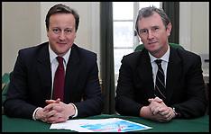 David Cameron and Nigel Evans