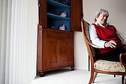 Linda Groeber, 67, in her Lutherville-Timonium, Maryland home on Wednesday, January 13, 2010. As she ages Linda has relied more on her daughters Tracey Brown and Annie Groeber to help with day-to-day tasks.