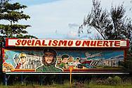 Image of Ernesto Che Guevara in Moa, Holguin, Cuba.