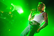 """The Prodigy performs in support of their new """"album Invaders Must Die"""" at Roseland Ballroom in New York City. March 26, 2009."""