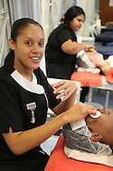 Beauty course at CNWL...Pictures by Jonathan Goldberg..