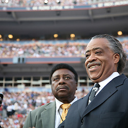The Reverend Al Sharpton on the delegate floor of the Democratic National Convention, Invesco Field, Denver, Colorado, August 28, 2008.