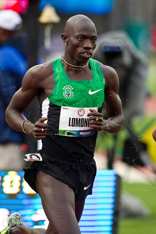 2012 Olympic Trials..Lopez Lomong..Photograph © Ross Dettman,.All Rights Reserved.