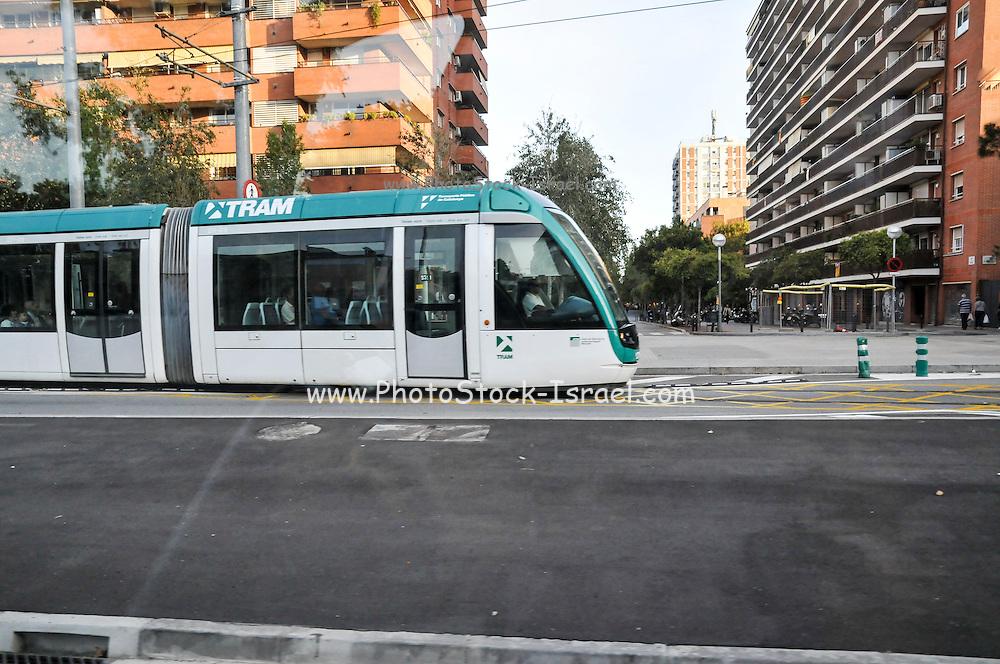 Tram Barcelona, Spain