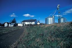 Lancaster county farm house silos