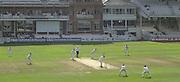 Photo Peter Spurrier.01/09/2002.Village Cricket Final - Lords.Elvaston C.C. vs Shipton-Under-Wychwood C.C..Shipton batting