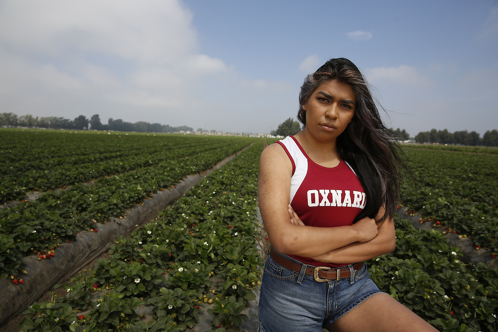 Pesticide spraying in the strawberry fields of Oxnard, California has raised concerns among environmentalists as well as high school students and teachers. The fields are immediately adjacent to Rio Mesa High School and Oxnard High School where students engage in outside, athletic training including running track and field.