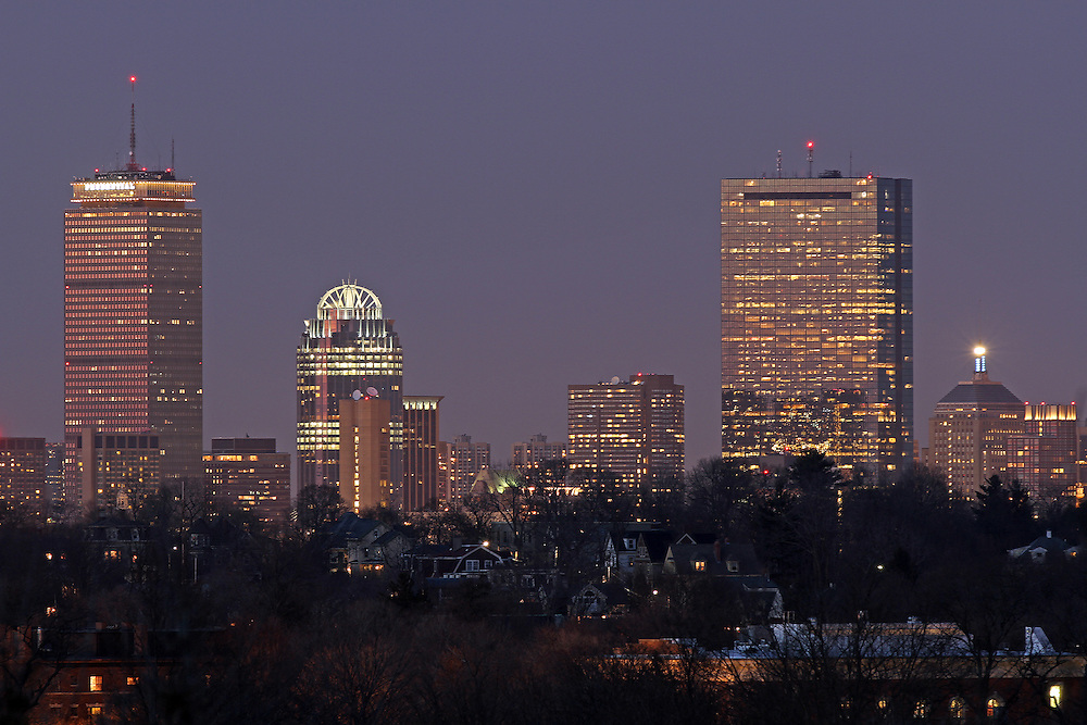 Boston skyline picture photos are available as museum quality photography prints, canvas prints, acrylic prints or metal prints. Prints may be framed and matted to the individual liking and decorating needs:<br />