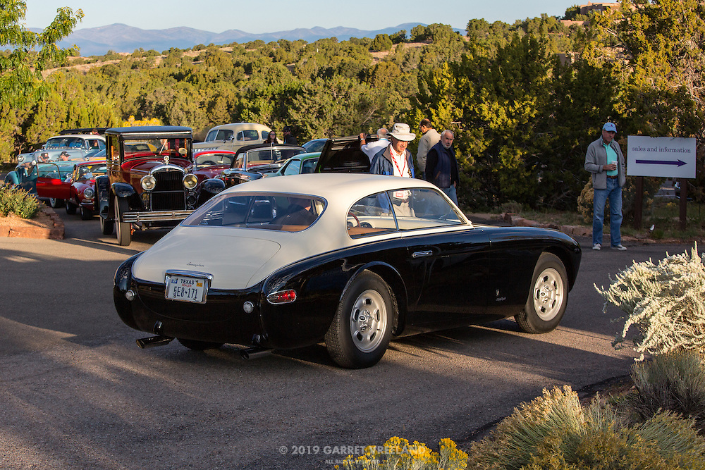 1953 Cunningham C3 Prototype, 2012 Santa Fe Concorso High Mountain Tour.