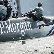 Team J.P. Morgan BAR racing in San Francisco, CA