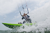 Kiteboarding - Wake
