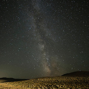 Milky way from the Bighorn Basin in Wyoming