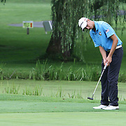 Ryan Rucinski putts on the seventh hole during the boys 2015 Delaware junior championship at Chesapeake Bay Golf Club Thursday, July 03, 2015, in Rising Sun, Maryland.