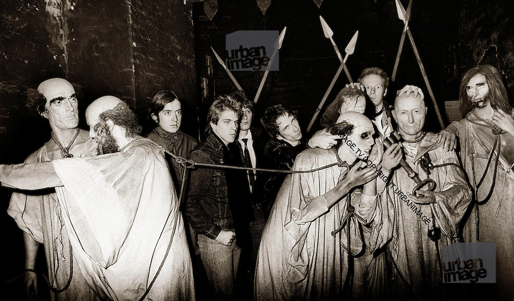 Dead Boys photosession at the London Dungeon