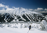 Mt. Bachelor &  resort seen from Tumalo Peak, Bend, Oregon