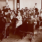 American school, circa 1900