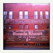 An old advertisement in the Church Hill neighborhood Monday, January 16, 2012, in Richmond, VA...Photo by Khue Bui