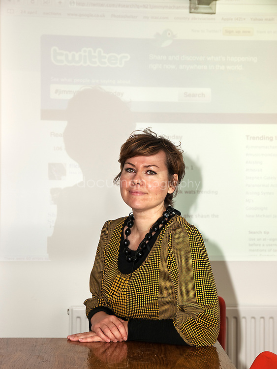 ounder of Social Links, Lucy Kyle wants to take kids who are good at twitter and facebook, and get them into creative/design companies to help them setup their social networking profiles. The idea is to get young people to build on what they are good at and use it to get them an insight into different creative careers they might not have thought about across the East End of London, London...OLYMPUS DIGITAL CAMERA
