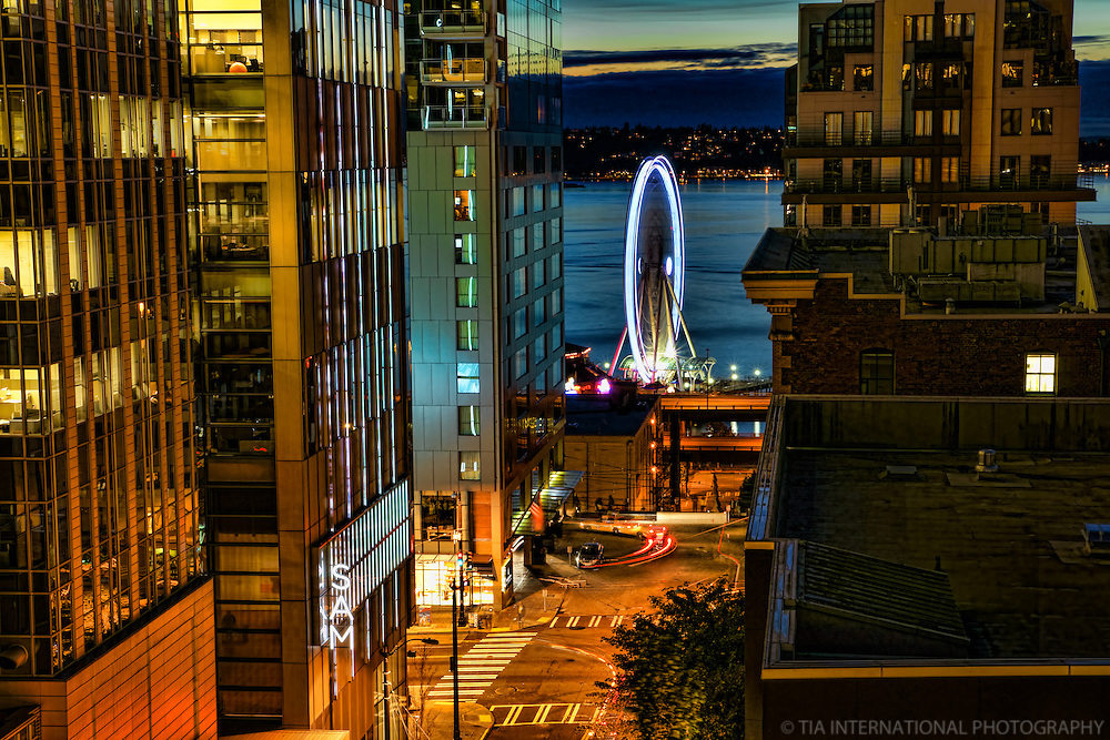 Seattle's Great Wheel on the Waterfront