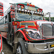 Chicken Buses of Central America